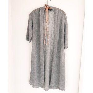 Eileen Fisher Italian Yarn Wool Kimono